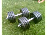 Jednoručky činky 2x42kg za 4200,-