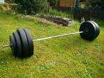 BENCH činka 65kg za 2300,-