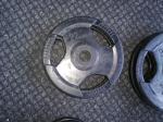 Pogumovaný kotouč průměr 50 mm OLYMPIC 10 kg