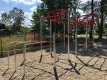 Workout hřiště/konstrukce na cvičení - venkovní hřiště
