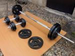 Fitness sada 80kg NOVÁ za 7190,- (NOVÁ)