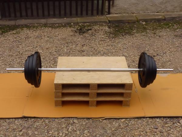 BENCH činka 110kg za 4800,-