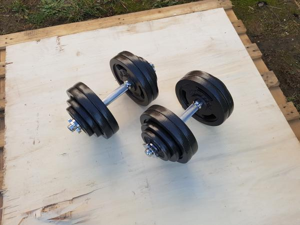 Jednoručky činky 2x30kg za 5990,- NOVÉ