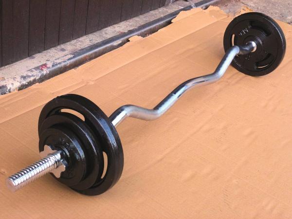 EZ činka 25kg za 2490kč