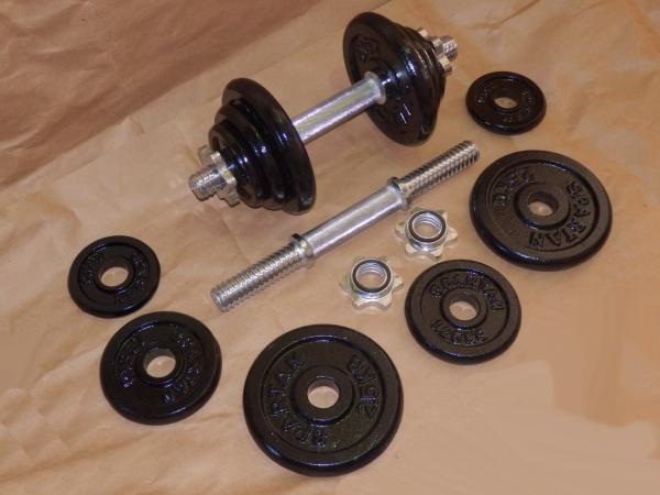 Jednoručky činky 2x11kg za 2090