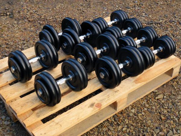 SADA činek jednoruček 15-25kg (200kg)