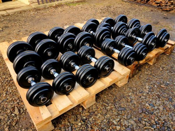 SADA činek jednoruček 12,5-30kg 340kg  - NOVÁ