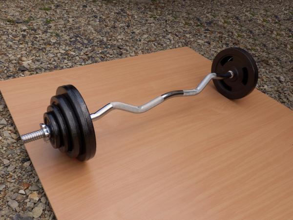 EZ činka 45kg za 3990,- (NOVÁ)