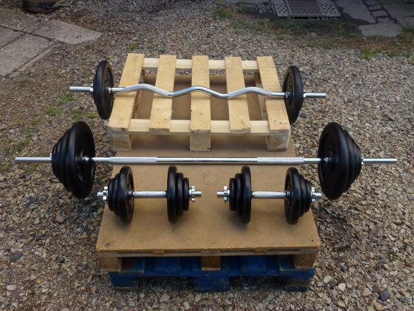 Fitness sada 157kg za 7390,-