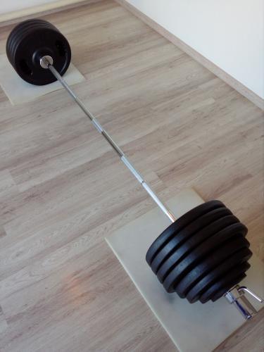 NOVÁ Olympijská činka 224kg PANATTA