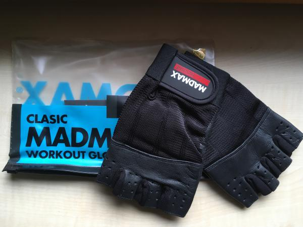 Clasic MADMAX Workout Gloves XL - nové
