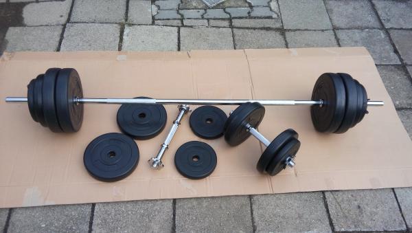 Nakládací činkový set do 65 kg