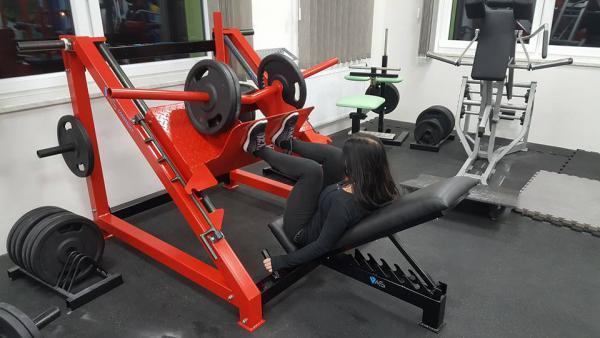 Masivní legpress - nosnost 750kg