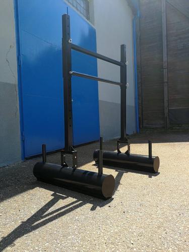Strongman masivní vybavení - loglift, kufry, super yoke
