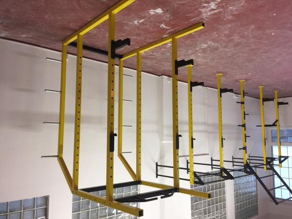 Multifunkční dřepovací klec, power rack