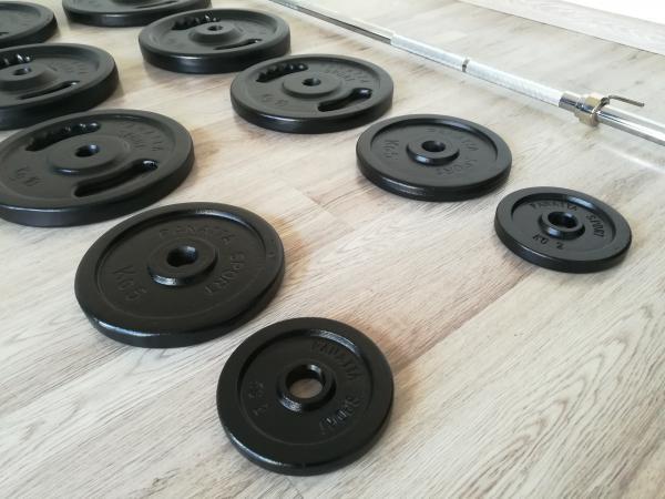 NOVÁ Bench činky 104kg PANATTA