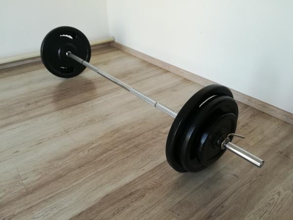 NOVÁ Bench činky 90kg PANATTA
