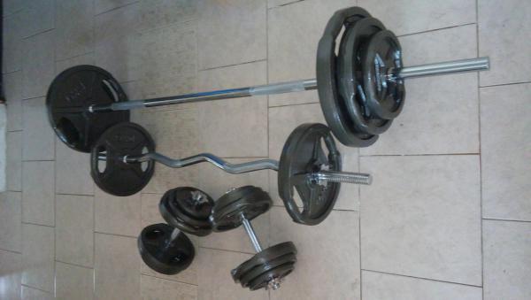 Činkový set  115 kg