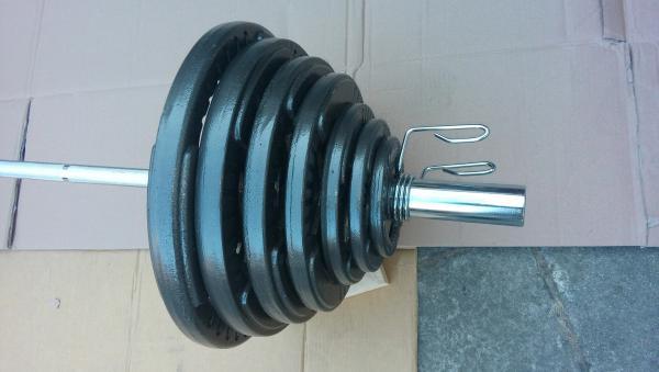 Olympíjská činka 167,5 kg