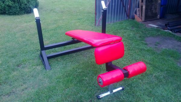 Bench press lavice rovná, nakloněná - negativně, dodatně