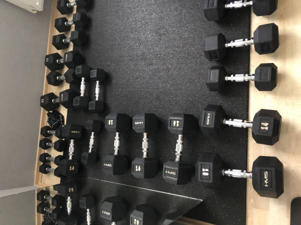 Sada jednoručních činek Hexa 12-20kg
