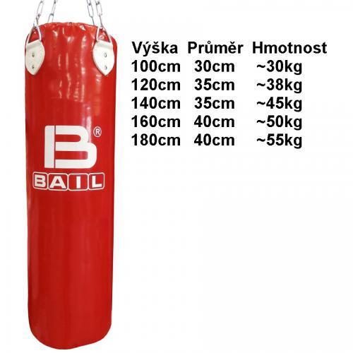 Boxovací pytel BAIL, boxerské rukavice BAIL