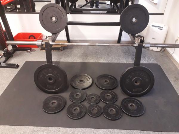 Profi olympijská činka WEIDER 185 kg