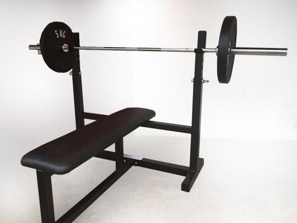 Masivní bench press lavice