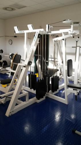 Vybavení zrušeného firemního fitness centra