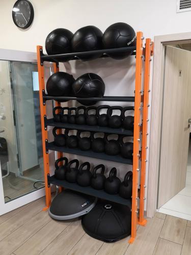 Regálové systémy do fitness