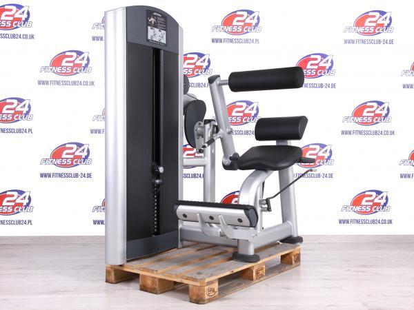 Byla regenerována sada 16 kusů strojů Life Fitness Signature