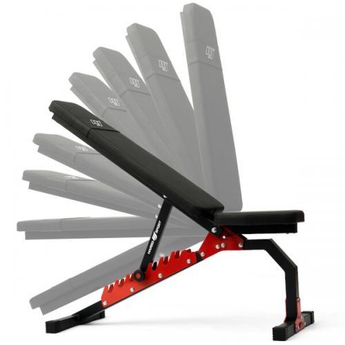 Polohovací lavice s vysokou nosností 200kg